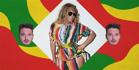 beyonce biography in spanish beyonc 233 sings in spanish on the remix of j balvin s quot mi gente quot