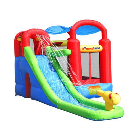 Bounce House Water Slide by Bounceland Water Slide With Playstation Bounce House