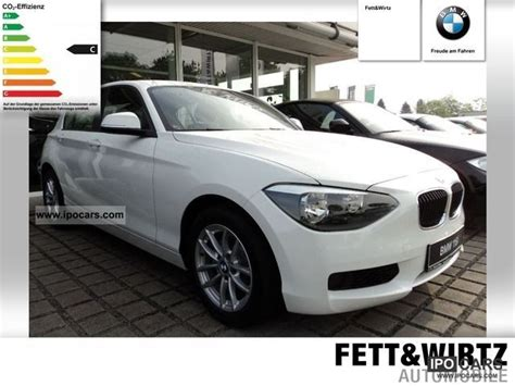 2012 Bmw Climate Comfort Package 116i Pdc Car Photo And