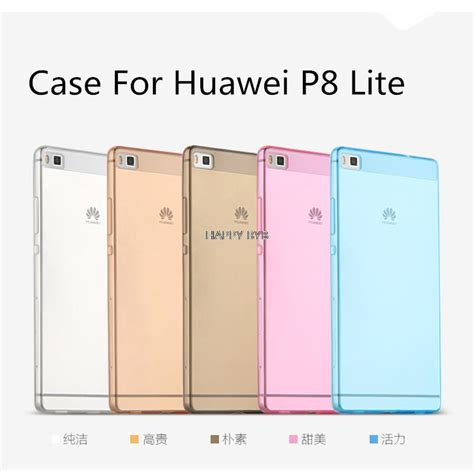 Huawei P9 Lite Baby Skin Ultra Thin Gold Murah huawei p8 litetransparent tpu ultra thin soft for huawei ascend p8 lite back cover
