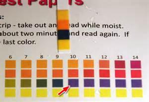 ph paper colors lab 7 preparation of oxygen