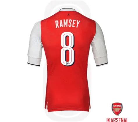 arsenal number confirmed aaron ramsey gets arsenal number 8 shirt