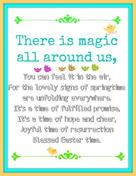 printable easter quotes easter blessings and quotes
