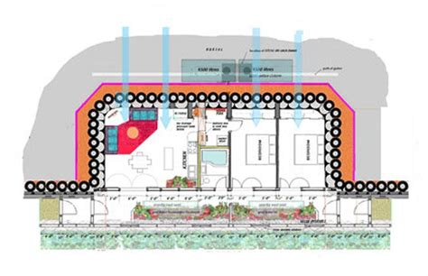 earthship home plans green home building natural building techniques