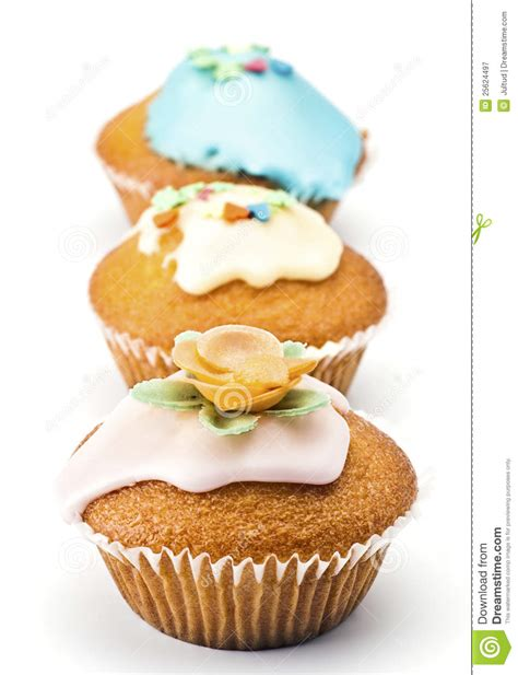 muffins decorated royalty free stock photography image 25624497