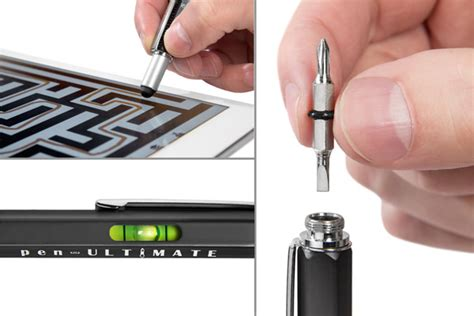 Senter Pena Led By Divo Gadget pena multifungsi plastik stylus penggaris level