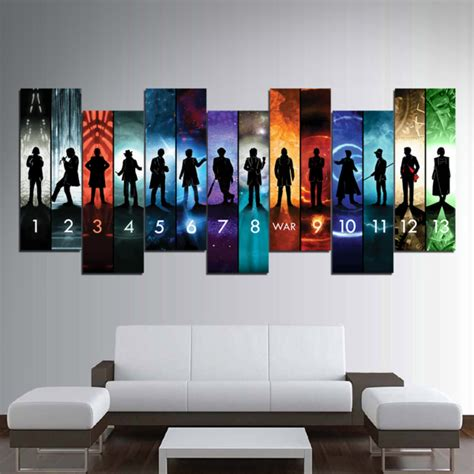 doctor  collection canvas wall art trendysweety