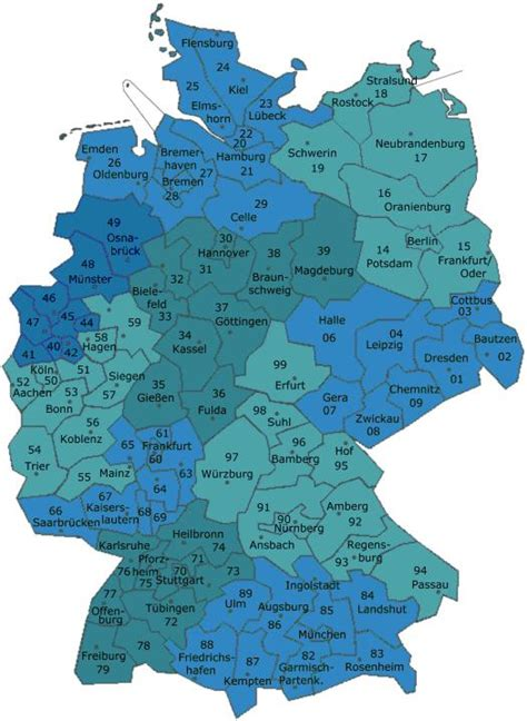 zip code map germany www steller web de links
