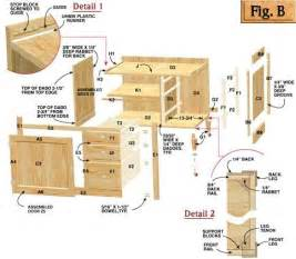 kitchen cabinet plans blueprint from teds woodworking