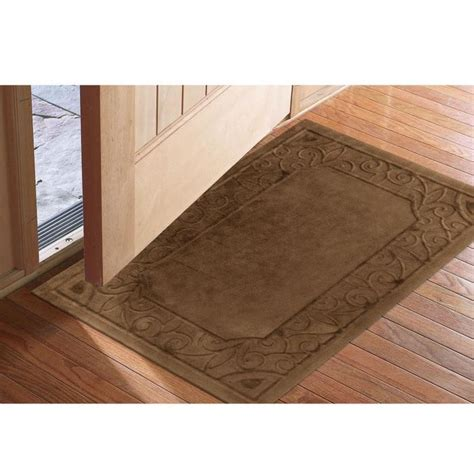 Inside Front Door Mat Low Profile Microfiber Door Mats At Brookstone Buy Now