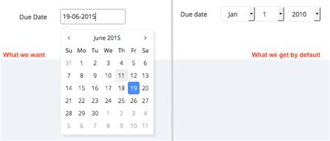 date format in javascript datepicker symfony2 forms with bootstrap 3 datepicker for date