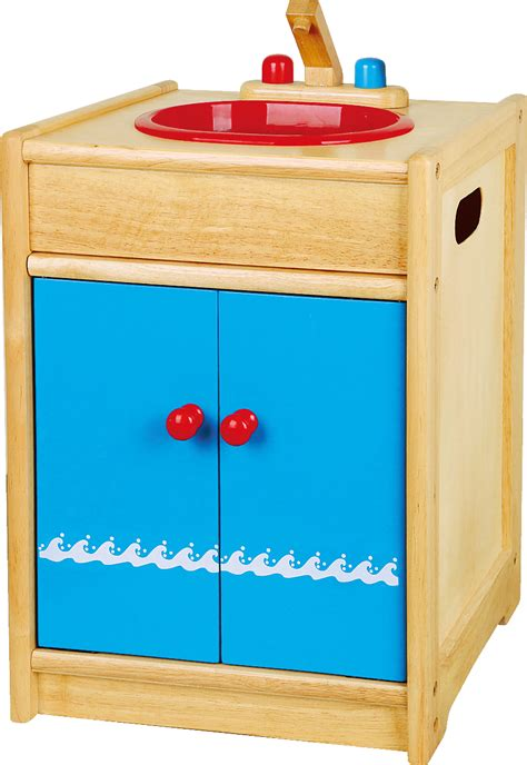 viga toys children s wooden kitchen sink unit 58306vg ebay