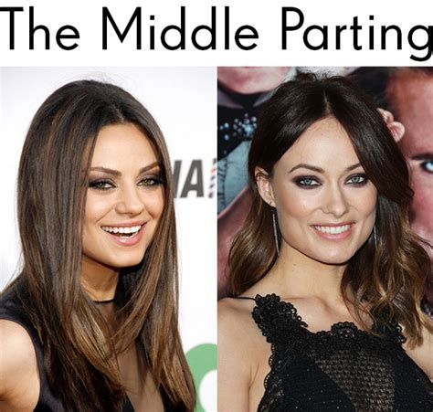 hair extensions for round faces how to find the perfect parting hair extensions blog