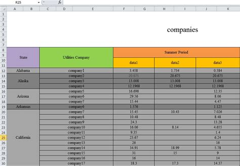 Html Table Merge Cells by Excel How To Create Result Table With Vlookup From