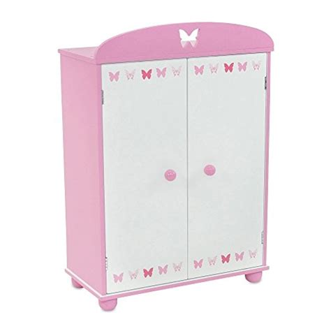 doll armoire fits american girl emily rose doll clothes 18 inch doll furniture beautiful