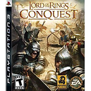 Lord Of The Rings Conques the lord of the rings conquest playstation 3