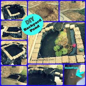 Diy Backyard Pond Ideas Diy Easy Backyard Pond Design Idea Isavea2z
