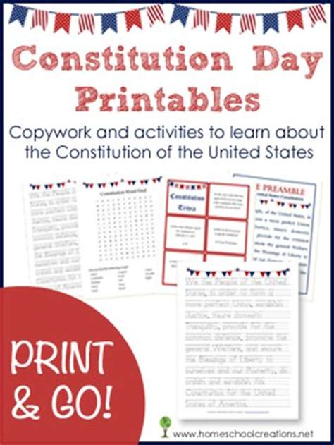 printable constitution poster free constitution day printables and activities