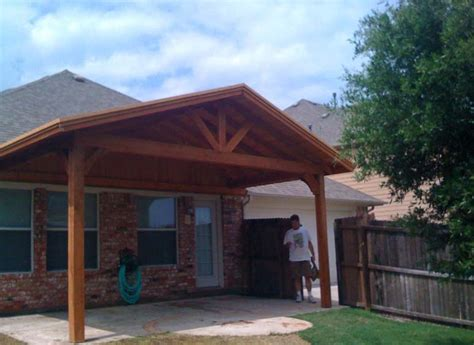 Small Patio Cover by Small Patio Cover Provides Backyard Shade In Frisco