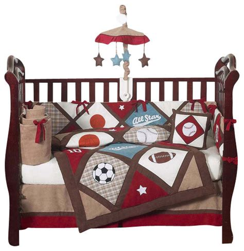 Crib Bedding Sports Theme Sports Themed Bedding Sets For Your Baby Decorate 4 Baby