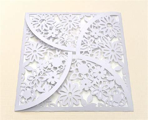 cricut templates free flower petal envelope free cut file silhouette cameo