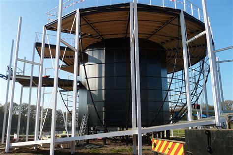 rabo bank uk tensioned membrane rabo earth walk pavilion