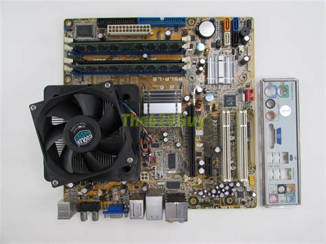 Hp Ram 2gb Asus hp leonite2 5188 8019 p5lp le rev 6 00 motherboard c2d