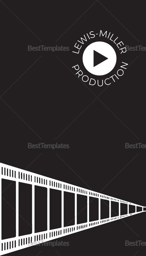 Producer Business Card Template Psd by Producer Business Card Template In Psd Word
