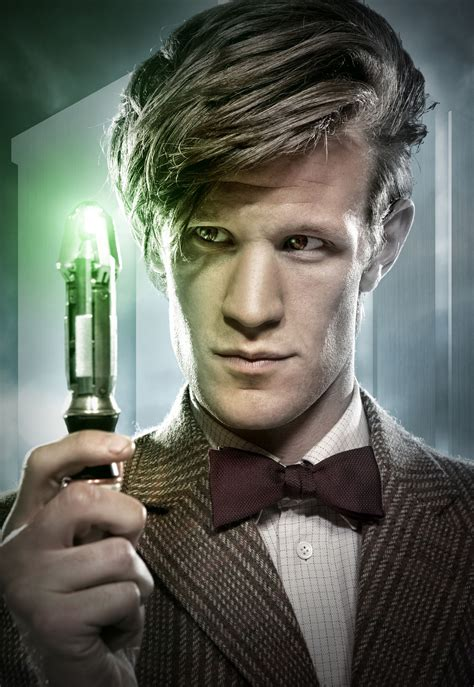 Matt Smith And Gillan Doctor Who Collider