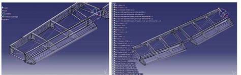 catia v5 structure design 123vid parametric study to optimize aluminum shell structure