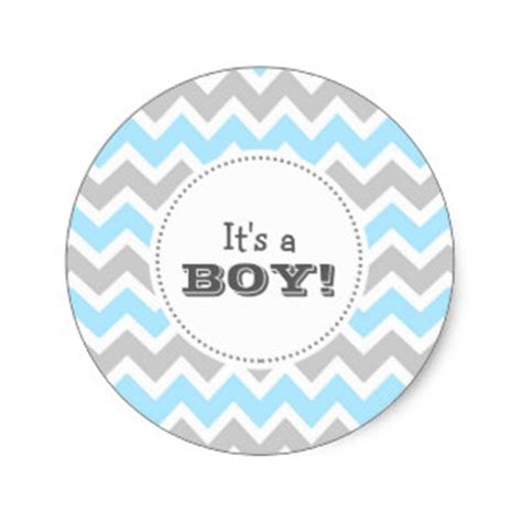 Its Boy 1 birth announcement stickers zazzle au