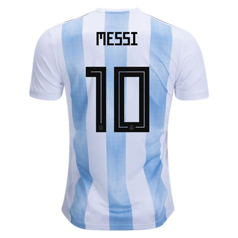 Jersey Adidas Lionel Messi adidas lionel messi argentina home jersey 2018 soccer