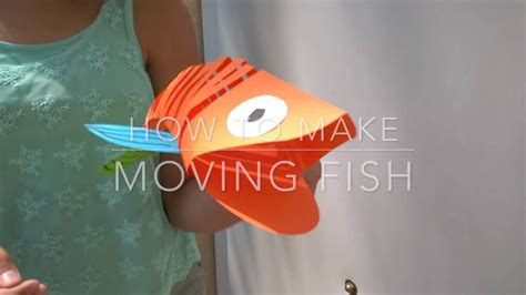 How To Make A Fish Out Of A Paper Plate - how to make moving fish