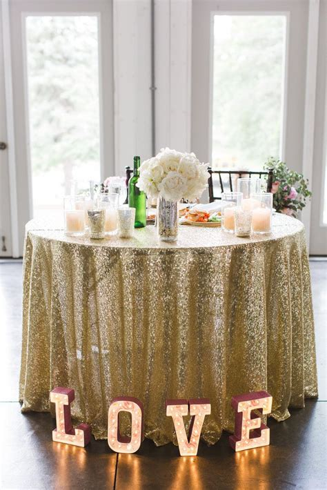 25 best ideas about sequin tablecloth on