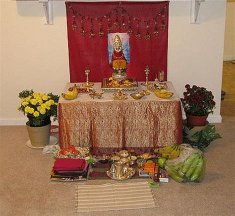 decoration of pooja room at home varalakshmi pooja decoration ideas pooja pinterest