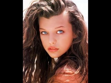milla jovovich now milla jovovich over the years then and now youtube