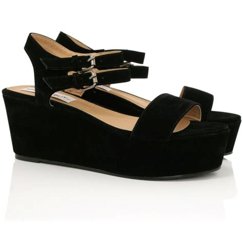 new womens flatform wedge heel peep toe platform sandal