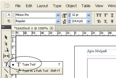 layout naskah novel tutorial indesign