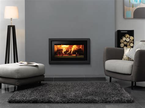 Studio Profil Inset Wood Burning Fires   Stovax Fires