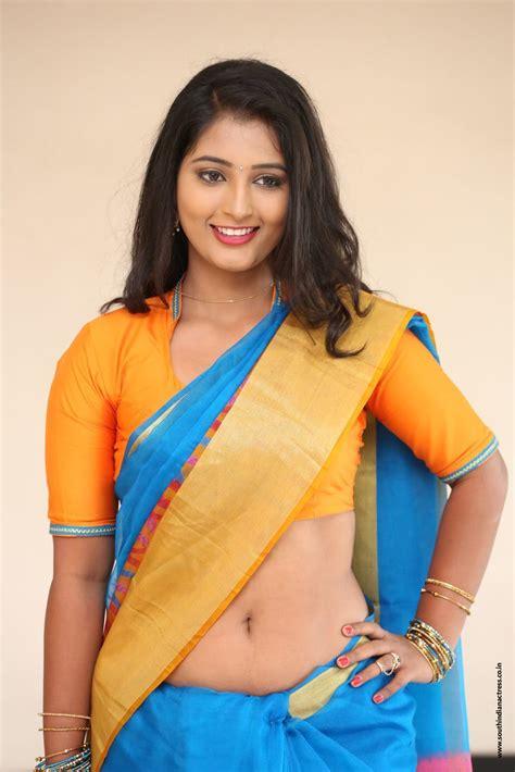 telugu actress hot photos in saree navel teja reddy hot navel show in saree stills south indian