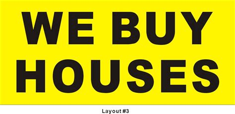 buy house sign i buy houses signs 28 images new variable print bandit signs absentee postcards we
