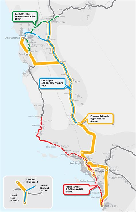 trains in usa map high speed rail in america infrastructureusa citizen