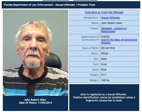 sexual predators my neighborhood amatuer registered offenders in port st john