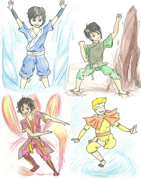 Avatar The Last Airbender Drawing Book
