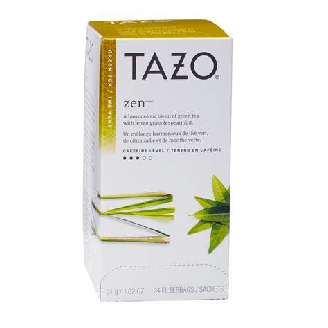 tazo tea bags zen tea box coffee wholesale