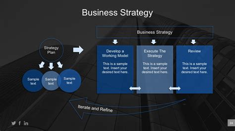 Strategy Plan Template Powerpoint Bookhotels Tk