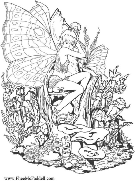 coloring pages for adults forest coloring pages