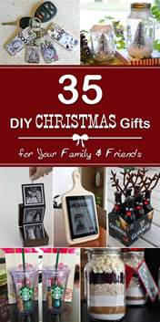 gift for family 35 easy diy christmas gifts for your family and friends