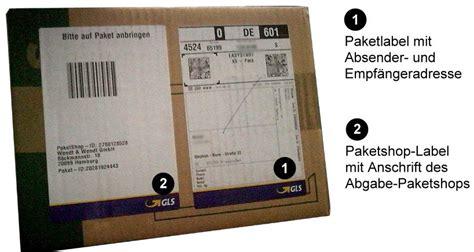 Gls Paketaufkleber Drucken by So Funktioniert Der Mobile Paketschein Gls