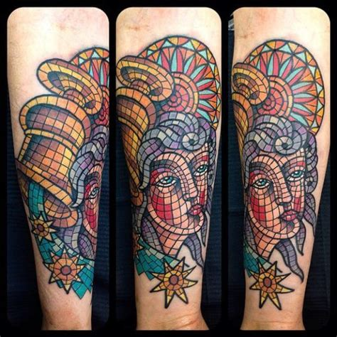 mosaic tattoo mosaic tattoos for ideas and designs for guys